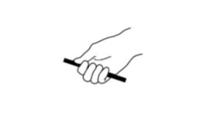 Point Digit Hand Grasp