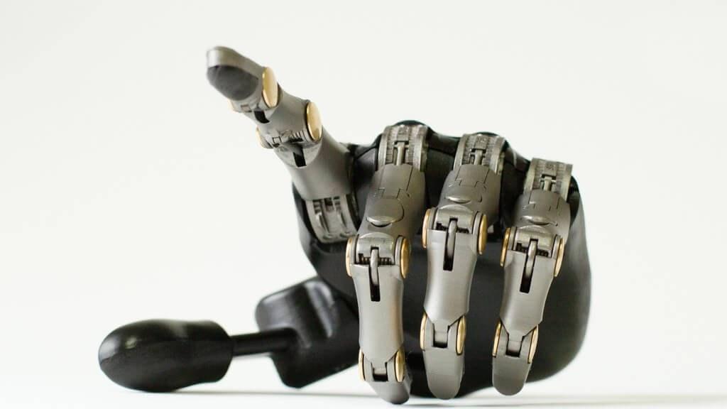 Point Designs full prosthetic finger